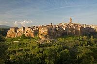Italy, Tuscany, Pitigliano