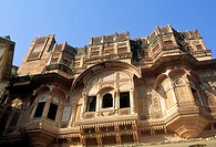 asia, india, rajasthan, jodhpur, fortress
