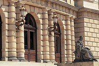 czech republic, prague, rudolfinum