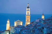france, menton, church of st.michel