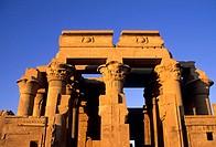 africa, egypt, kom ombo, temple of sobek and haroeris