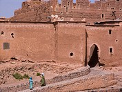 africa, morocco, ouarzazate, kasbah of taourirt