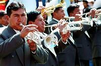 south america, bolivia, la paz, nuestro senor del gran poder parade