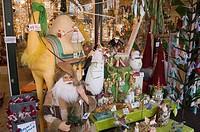 denmark, copenhagen, tivoli gardens at christmas