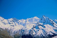 10534207, mountains, Switzerland, Europe, Valais, Bresso, Zinalrothorn, Val d´Anniviers, near Zinal, Crevache, scenery
