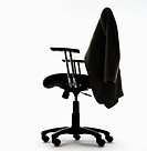 Office Chair and Coat