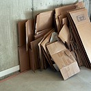 Broken Down Cardboard Boxes