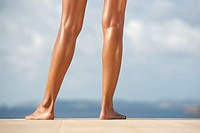 Young Woman´s Bare Legs