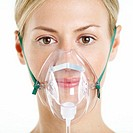 Woman Wearing Oxygen Mask (thumbnail)