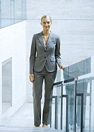 Businesswoman, full length portrait