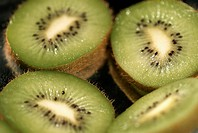 Close-up of kiwi fruit