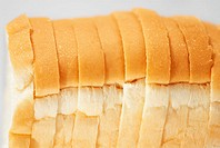 Close-up of sliced bread