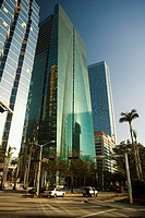 Low angle view of a building, Miami, Florida, USA