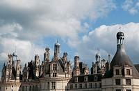 Chambord Castle. Loire Valley. France