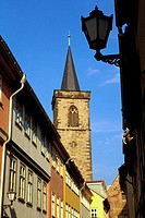 Low angle view of a tower, Erfurt, Germany