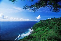Hill along the sea, Bali, Indonesia