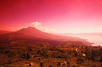 Panoramic view of a landscape, Bali, Indonesia