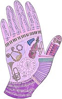A pictorial representation of a music hand