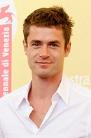 07/09/2006 - 63 Venice Film Festival - Film ' Nue propriete` - The actor Yannick Renier