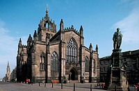 St. Giles cathedral, Edinburgh. Scotland. UK.