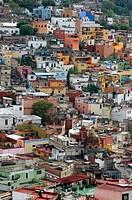 Panoramic View Guanajuato Mexico