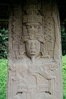 Stele of Mayan Dignitary, Quirigua Guatemala