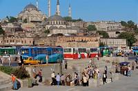 Suleimaniye Mosque, Istanbul. Turkey