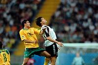 SG Sport, Fußball, Confederations Cup 2005, Gruppenspiel, Deutschland gegen Australien 4:3, Waldstadion Frankfurt, Deutschland, 15 06 2005, Spielszene...