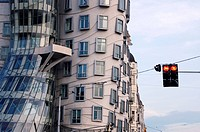 modern architecture, Dancing House, Prague, Czech Republic