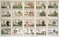 Kunst, Hiebeler, Jakob * um 1560 + um 1625 Totentanz St. Anna Kapelle, Füssen, Oberbayern, Deutschland, um 1600, Tafelmalerei, Füssener Totentanz, ält...