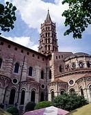 Saint Sernin basilica, Toulouse. Haute-Garonne, Midi Pyrénées, France