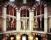 Ü Geo , BRD, Nordrhein-Westfalen, Aachen, Münster, Marienkapelle, erbaut 796 - 804 von Odo von Metz, Innenansicht, Kirche, Kaiserdom, Krönungskirche, ...