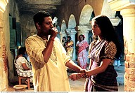 Film, ´Die Geschichte eines ungezogenen Mädchens´ Mondo Meyer Upakhyan, IND 2002, Regie: Buddhadev Dasgupta, Szene mit: Tapas Pal und Samata Das, Dram...