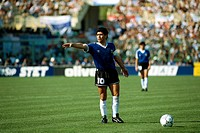 Sport / Sports, soccer, football, World Cup 1990, final round, quarter-finals, Yugoslavia against Argentina, 2:3 in Florence, Italy, 30 6 1990, scene ...