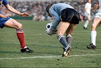 SG Sport hist , Fußball, Weltmeisterschaft, WM 1974, WM Endrunde, Gruppenspiel, Jugoslawien gegen Schottland, 1:1, in Frankfurt, Deutschland, 22 6 197...