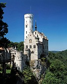 Lichtenstein castle, Lichtenstein, Germany