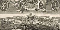 events, Thirty Years War 1618 - 1648, Swedish-French intervention 1635 - 1648, siege of Prague 1648, engraving by Matthäus Merian the Yonger 1621 - 16...