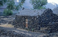 Hut in village, Mt Fogo, Cape Verde