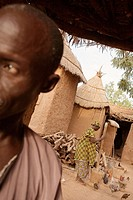 Village of Songo, Dogon Country, Mali, Africa