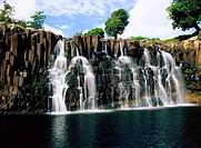 ÜF, Geografie, Mauritius, Landschaften, Rochester Falls, bei Souillac, Afrika, Indischer Ozean, Insel, Inselstaat, Inseln, Wasserfall, Wasserfälle, be...