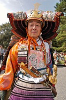 Kyoto Jidai Matsuri ´06 (The Festival of the Ages). A soldier in armor.