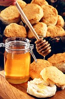Honey and scones