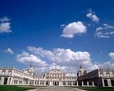 Royal Palace of Aranjuez (Architects: Juan de Herrera and Juan Bautista de Toledo, 1561). Madrid province, Spain
