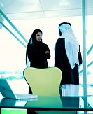 Arab businesspeople in the office