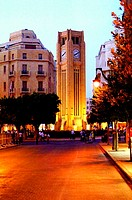 Al Abd Clock tower, Beirut Down Town, Lebanon