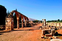 Anjar fortress, Lebanon