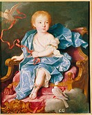 fine arts, Loo, Louis Michel van, 1707 _ 1771, painting, Archiduquesa de Austria, archduchess of Austria, Prado, Madrid, historic, historical, Europe,...