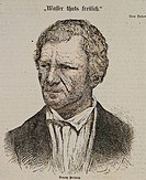 Priessnitz, Vincenz, 5.10.1799 _ 28.11.1851, German physician, portrait, coloured wood engraving, 1870, hydrotherapist, medicine, water cure, Germany,...