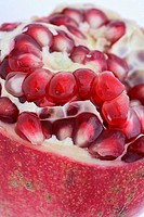 Half a pomegranate