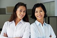 Portrait of Asian businesswomen in office